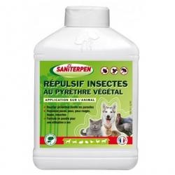 Saniterpen Repulsif insectes pour chien ou chat au pyrèthre végétal