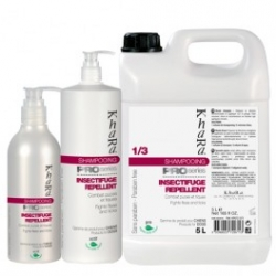 Shampooing insectifuge chien Khara