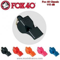 Sifflet de rappel type Fox 40 (sans bille), pour chien