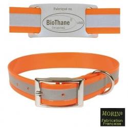 Collier pour chiens en Biothane réfléchissant