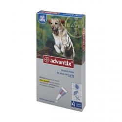 "ADVANTIX ""GRAND CHIEN"" +25KG"