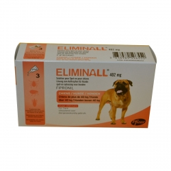 ELIMINALL CHIENS 402MG +40KG