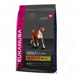EUKANUBA CHIEN ADULT MEDIUM BREED