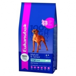 EUKANUBA CHIEN MATURE SENIOR LARGE 15KG