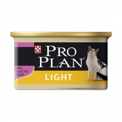 PRO PLAN CHAT LIGHT 18X85G