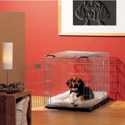 HOUSSE CAGE DOG RESIDENCE