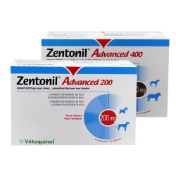 "ZENTONIL ""ADVANCED"" 400 MG 30 CPRS"