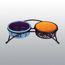 SET DE GAMELLES POUR CHAT 2 x 0,3 l