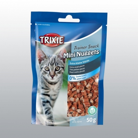 FRIANDISES CHAT TRAINER SNACK MINI NUGGETS