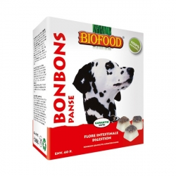 Bonbons Biofood au goût panse