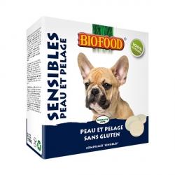 """Friandises """"Peau et pelage"""" Biofood pour chien"""