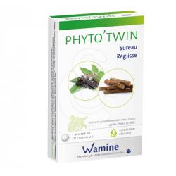 PHYTO'TWIN Sureau/Réglisse - Boîte de 30 comprimés
