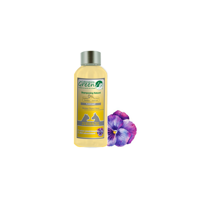 Shampooing antiseptique purifiant - Flacon de 250ml