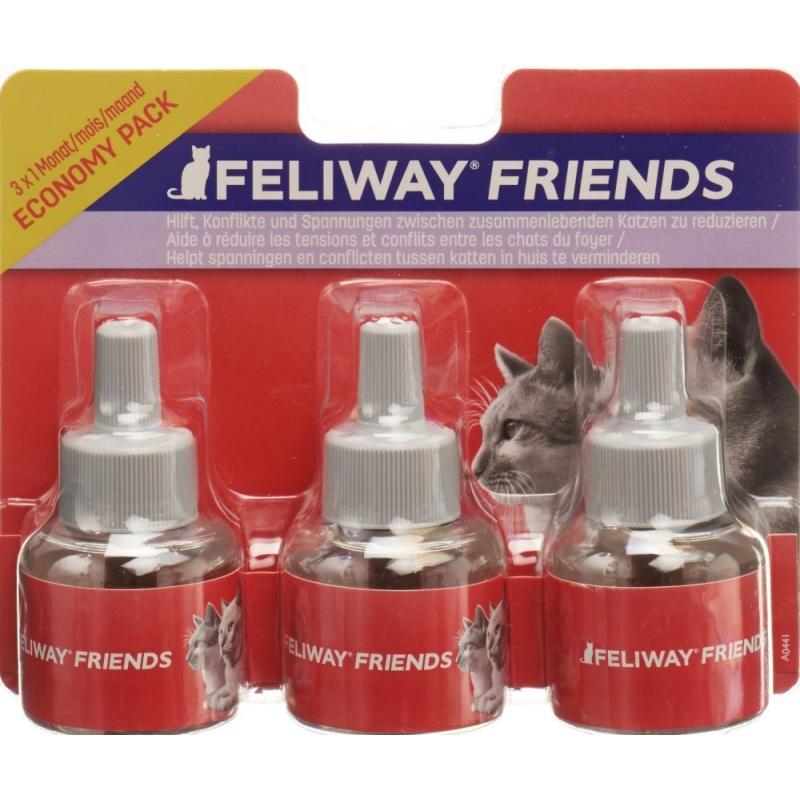 FELIWAY FRIENDS - PACK 3 RECHARGES DE 48 ML