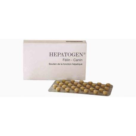 HEPATOGEN FELIN CANIN - 60 Comprimés