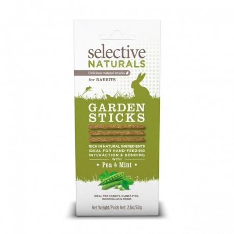 Selective Garden Sticks for Rabbits - Lot de 4 boîtes