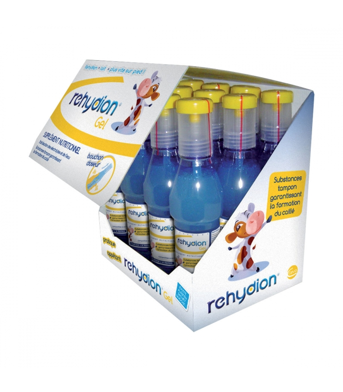 REHYDION Gel Formule + - 12 Flacons de 320 ml