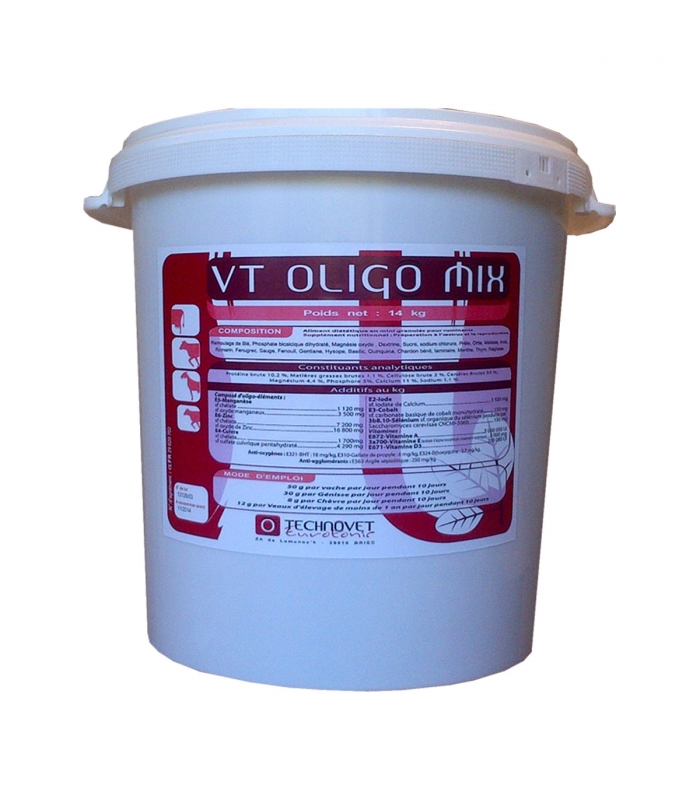 VT OLIGO MIX - Seau de 14kg