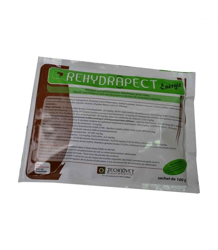 Rehydrapect Energie - Boîte de 32 sachets