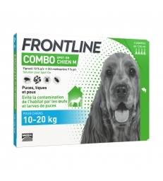 FRONTLINE COMBO SPOT-ON CHIEN M - 4 pipettes