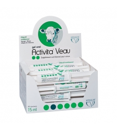 ACTIVITA VEAU - Etui de 20 Injecteurs de 15 ml