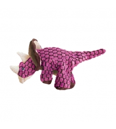 JOUET KONG DYNOS TRICERATOPS rose Taille S