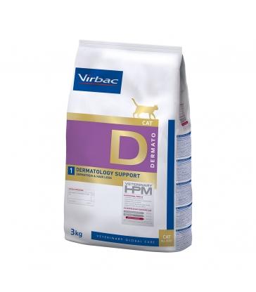 Hpm Cat D1 Dermatology Support - Sac de 3 KG