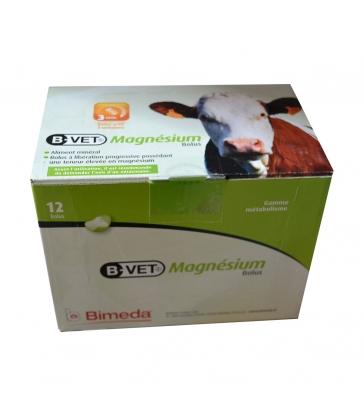 B-Vet Magnésium Bolus - Boîte de 12 bolus