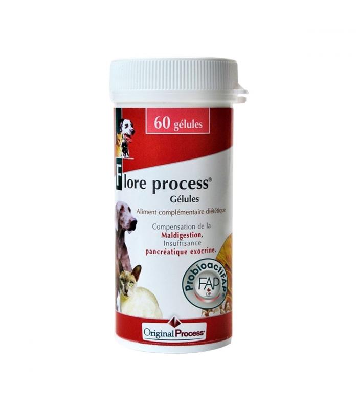 Flore Process Chien et chat 60 gélules