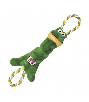 JOUET KONG TUGGER KNOTS FROG Taille S / M