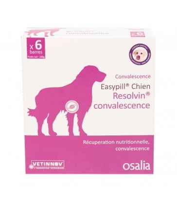 Easypill Chien Resolvin Convalescence - Boîte de 6 barres de 28 GR
