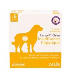 Easypill Chien Insuffisance Hépatique - Boîte de 6 barres de 28 GR