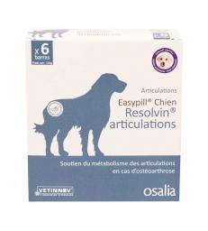 Easypill Chien Resolvin Articulations - Boîte de 6 barres de 28 GR