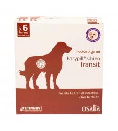 Easypill Chien Transit - Boîte de 6 barres de 28 G