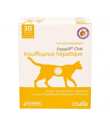 Easypill Chat Insuffisance Hépatique - Boîte de 30 boulettes