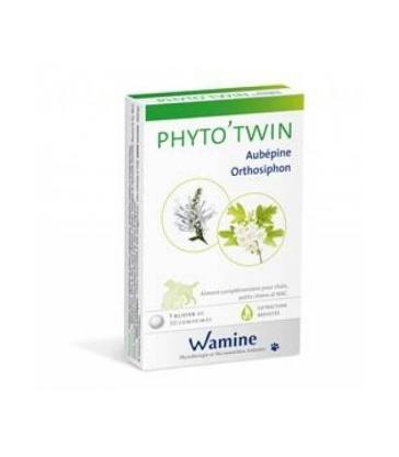 PHYTO'TWIN Aubépine/Orthosiphon - Boîte de 30 comprimés