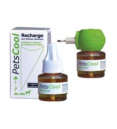 Petscool diffuseur électrique - Boîte de 1 diffuseur avec 1 recharge