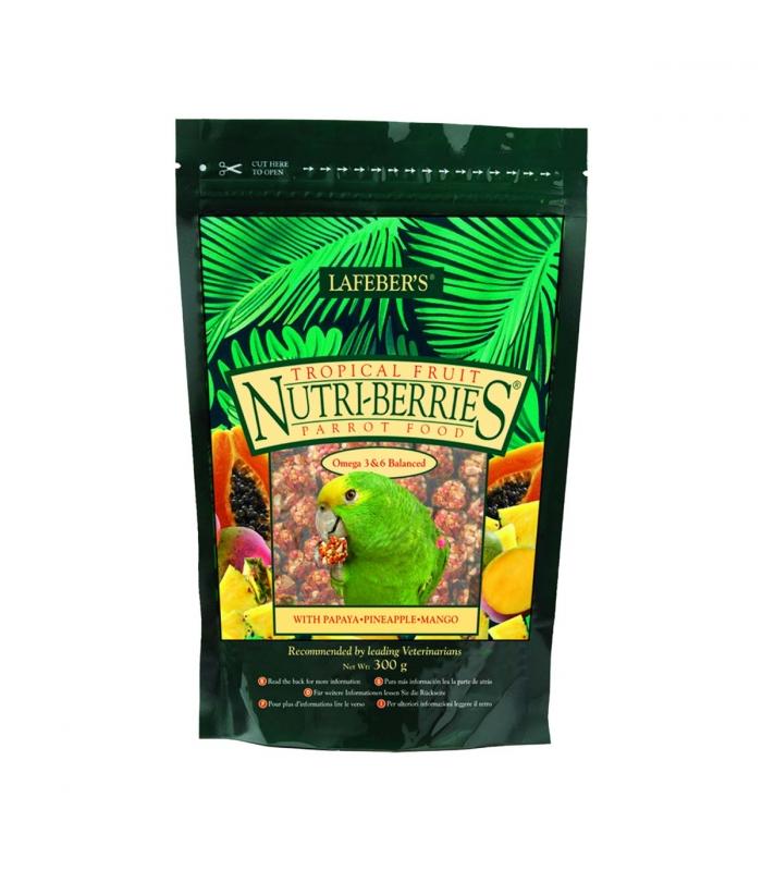 Tropical Fruit Nutri-Berries Parrots - 300g