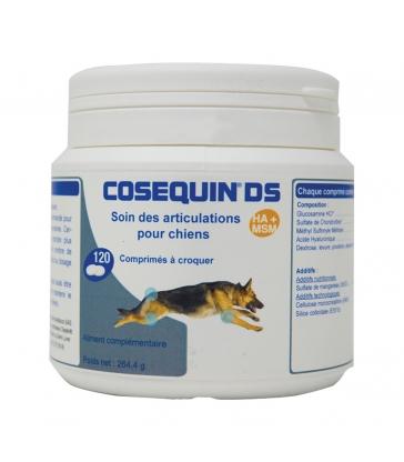 Cosequin DS HA+MSM - Pot de 120 comprimés