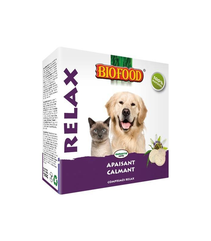 """Friandises """"Relax"""" Biofood pour chiens et chats"""