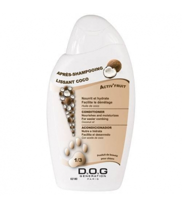 Après-shampooing Lissant Coco Dog Generation