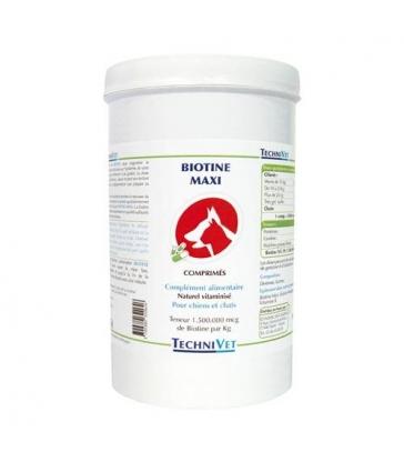 Complément alimentaire Technivet Biotine Maxi