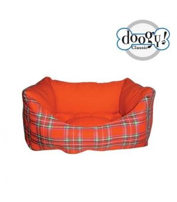 Sofa Doogy Ecossais rouge