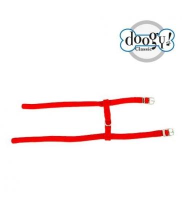 Harnais nylon H rouge Gamme Unique