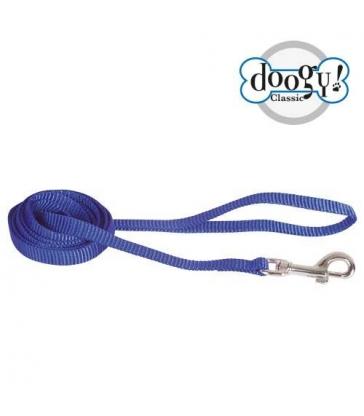 Laisse simple nylon bleu Gamme Essentiel