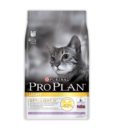 Croquettes ProPlan Light DInde