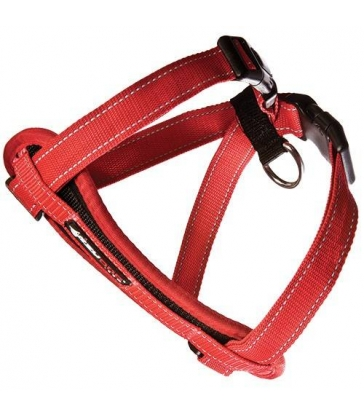Harnais Ezydog Chest Plate rouge