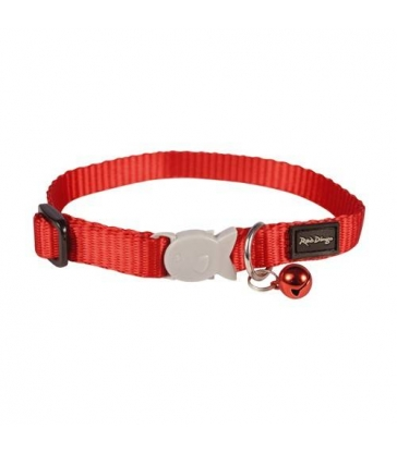 Collier Red Dingo Chats Basic rouge