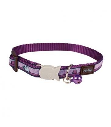 Collier Red Dingo Chats Fantaisie violet souris
