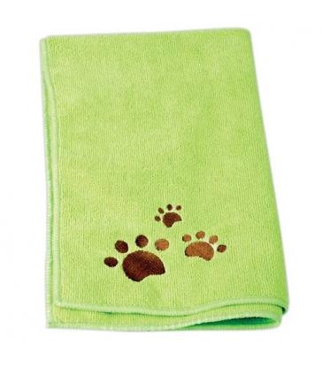 Lot de 2 serviettes Microfibre Idealdog vertes